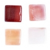 Semi-Precious 6X6mm Cube Red Agate